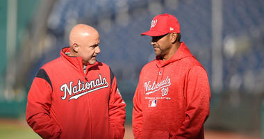 Nationals GM Mike Rizzo doesn't place blame solely on manager Dave Martinez.