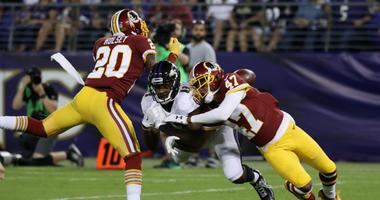 Redskins waive DB Joshua Holsey