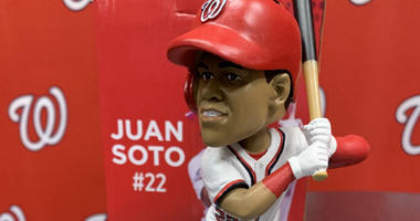 Juan Soto will be all smiles for his bobblehead giveaway