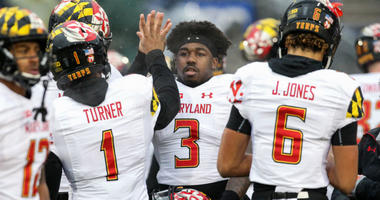 Maryland Terrapins Football Celebration