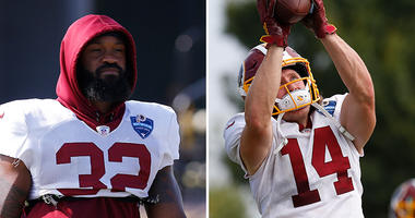 What Jay Gruden sees in Samaje Perine, Trey Quinn