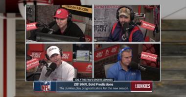 Junkies make bold 2019 NFL season predictions