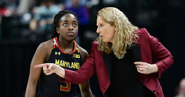 Maryland Terps guard Kaila Charles led the team with 29 in a comeback win.
