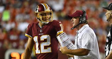 Schedule gives Redskins veteran QBs edge over potential rookie replacement.