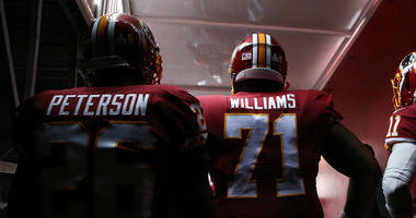 Adrian Peterson says Trent Williams' mind can't be changed.