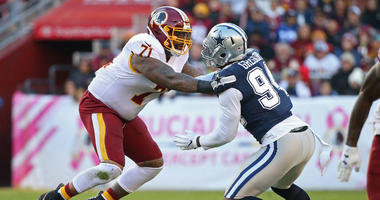Morgan Moses: 50/50 Trent Williams returns this week