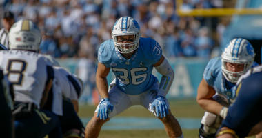 Redskins take LB Cole Holcomb with last pick of 5th Round of the NFL Draft..