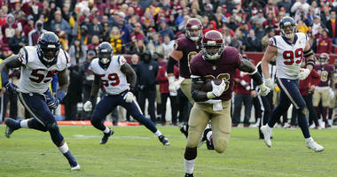 Washington Redskins RB Adrian Peterson wants a way better season than 2018.