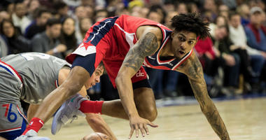 Wizards forward Devin Robinson was arrested after a fight outside a nightclub.