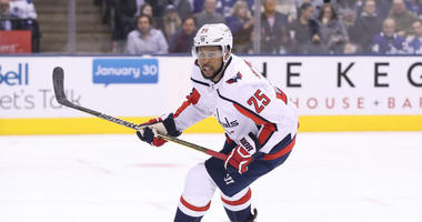 Capitals recall forward Devante Smith-Pelly.