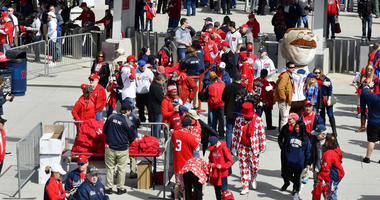 Nationals fans wore defaced Bryce Harper jerseys to Opening Day.