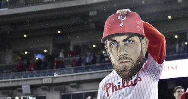 Philadelphia Phillies fans had a strong showing at Nats Park.