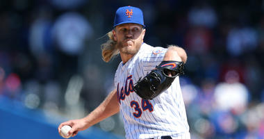 Noah Syndergaard hammers back at Grant Paulsen over hair insult.