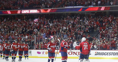 Washington Capitals fans brought A-game in Stanley Cup Playoffs Game 1.