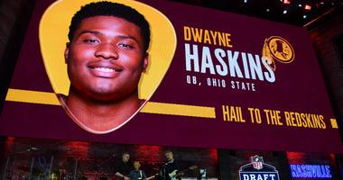 Redskins pick of Dwayne Haskins was marketing over need.