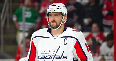 Alex Ovechkin OK after injury scare during scrimmage