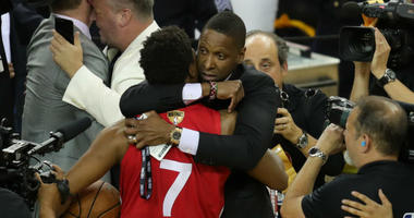 Wizards should pause pursuit of Masai Ujiri after alleged assault of officer at NBA Finals.