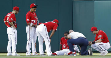 Nationals miss huge chance to gain ground on slumping NL East rivals.