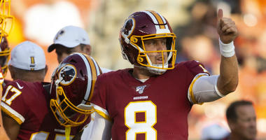 Redskins close training camp with Case Keenum ahead in quarterback battle.
