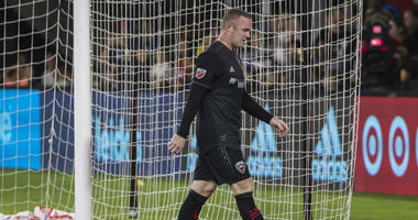 Wayne Rooney sees red in D.C. United defeat
