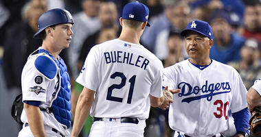 Nats GM on Kershaw coming in: 'Anybody but Buehler'