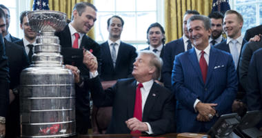 Capitals all smiles at White House visit with President Trump