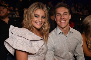 Lauren Alaina and Alex Hopkins attend the 2018 CMT Music Awards at the Bridgestone Arena on June 6, 2018 in Nashville, Tennessee