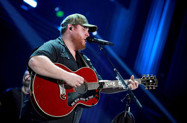 Luke Combs performs onstage at the Frank Erwin Center on May 4, 2019 in Austin, Texas