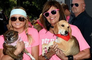 Miranda Lambert and Beverly Lambert attend the Miranda MuttNation March