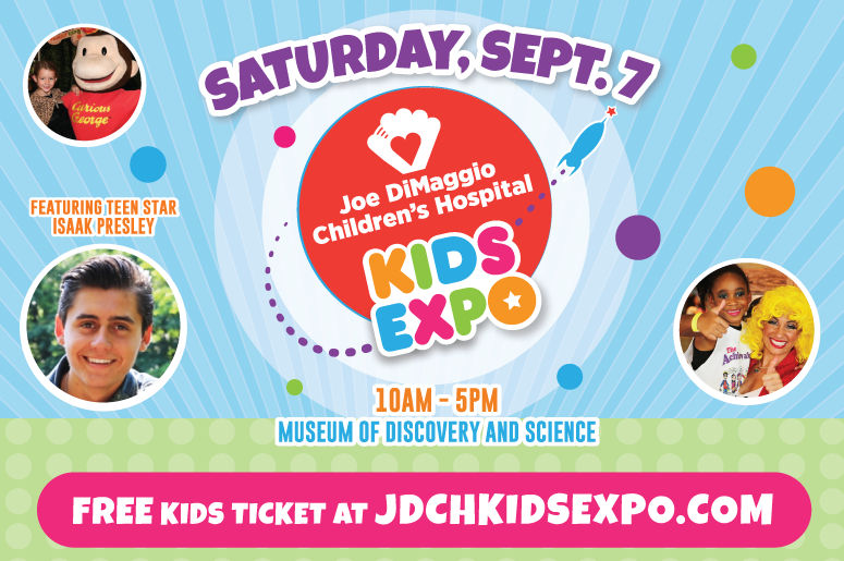 Joe DiMaggio Children's Hospital Kids Expo