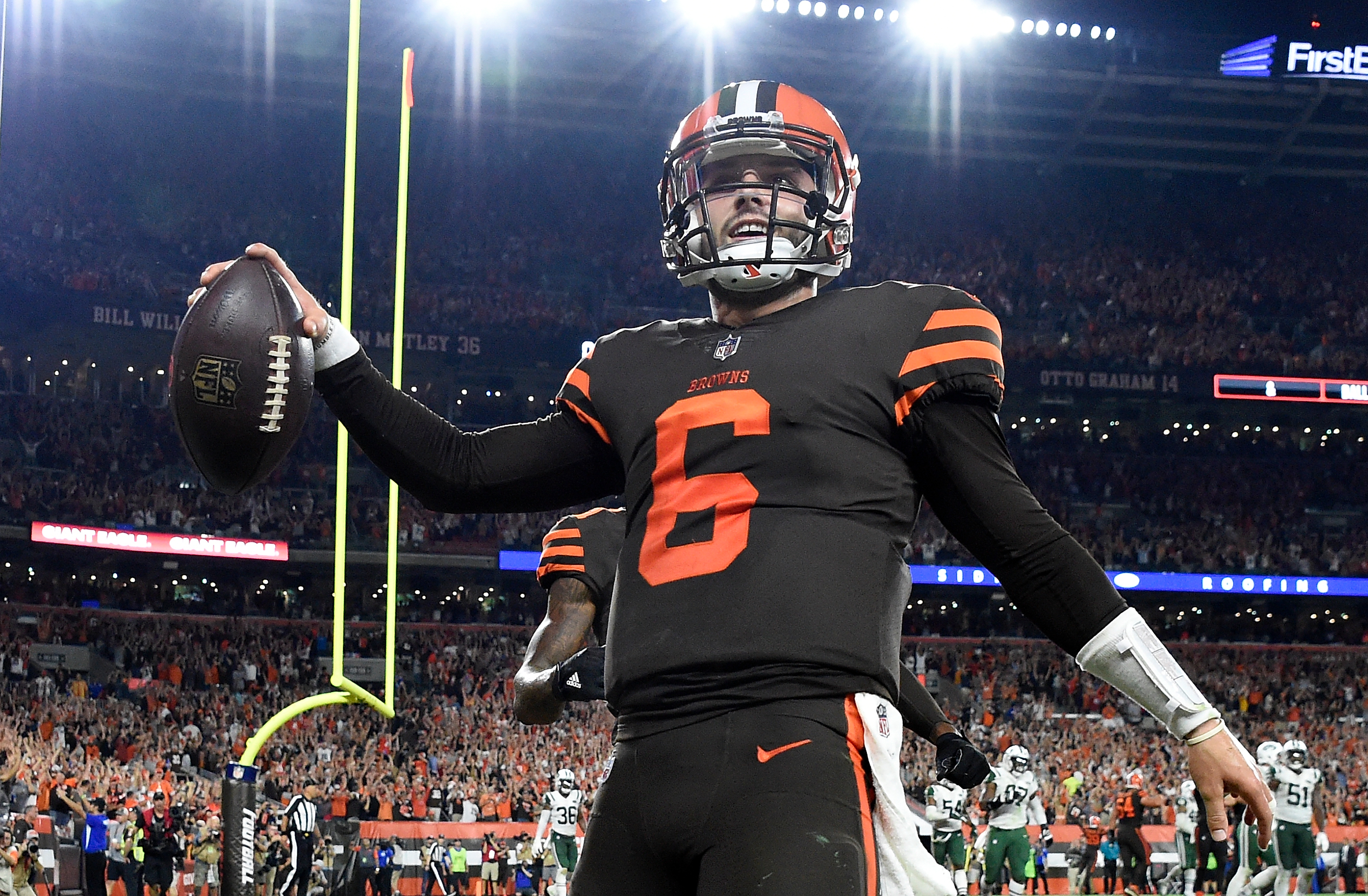 official photos f6413 3197e Cleveland Browns hope to wear color rush uniforms more in ...