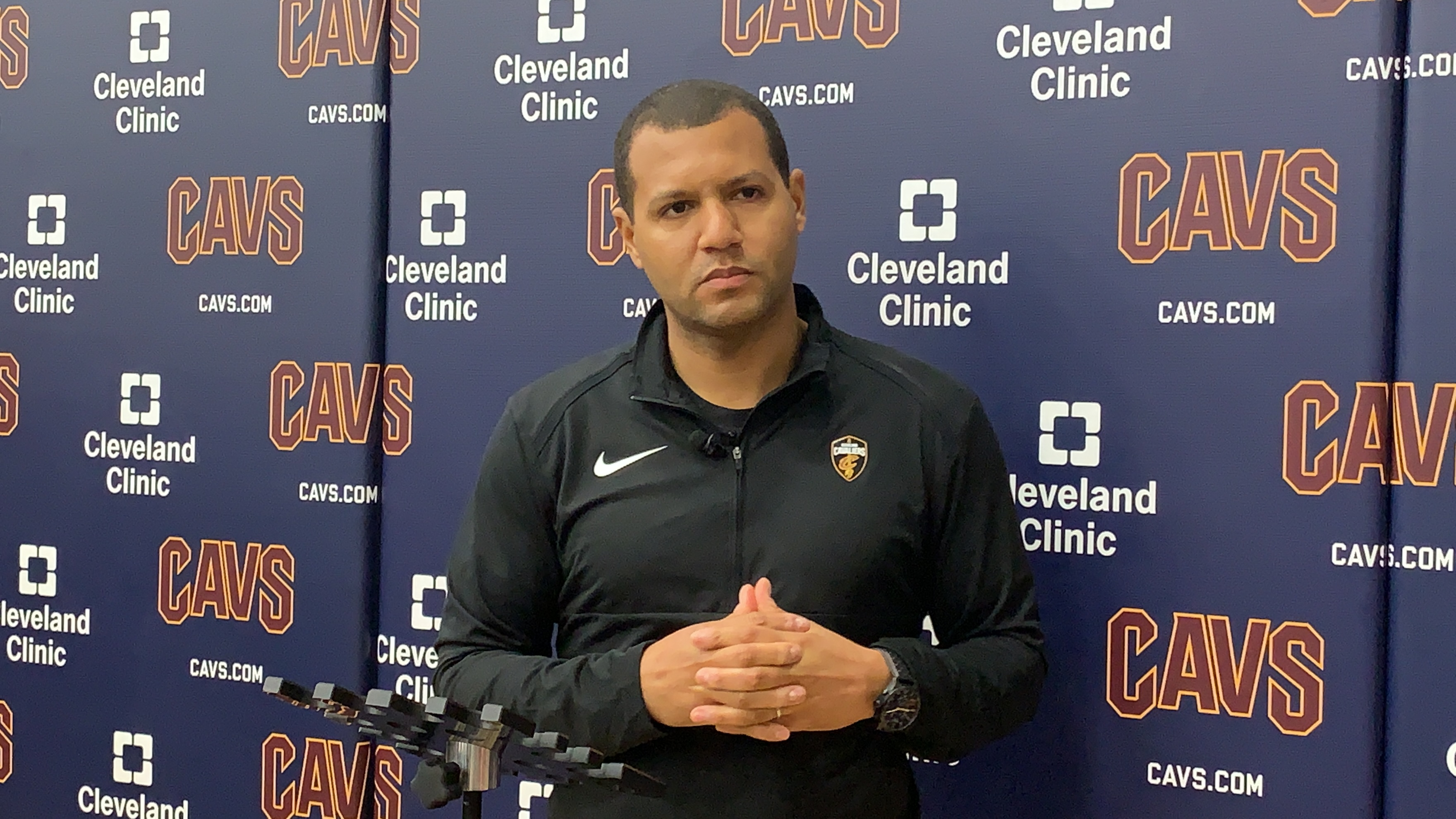 3bec6e334063 Cleveland Cavaliers general manager Koby Altman on head coach