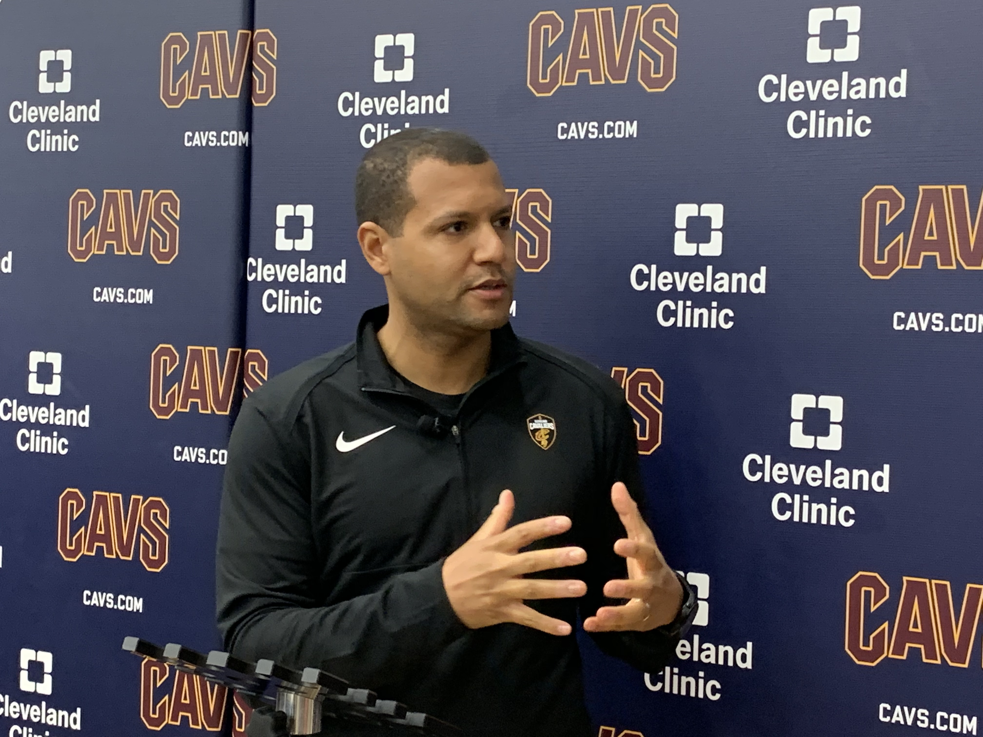 f5aabaf732c6 Cleveland Cavaliers general manager Koby Altman thinks head coaching job is  attractive