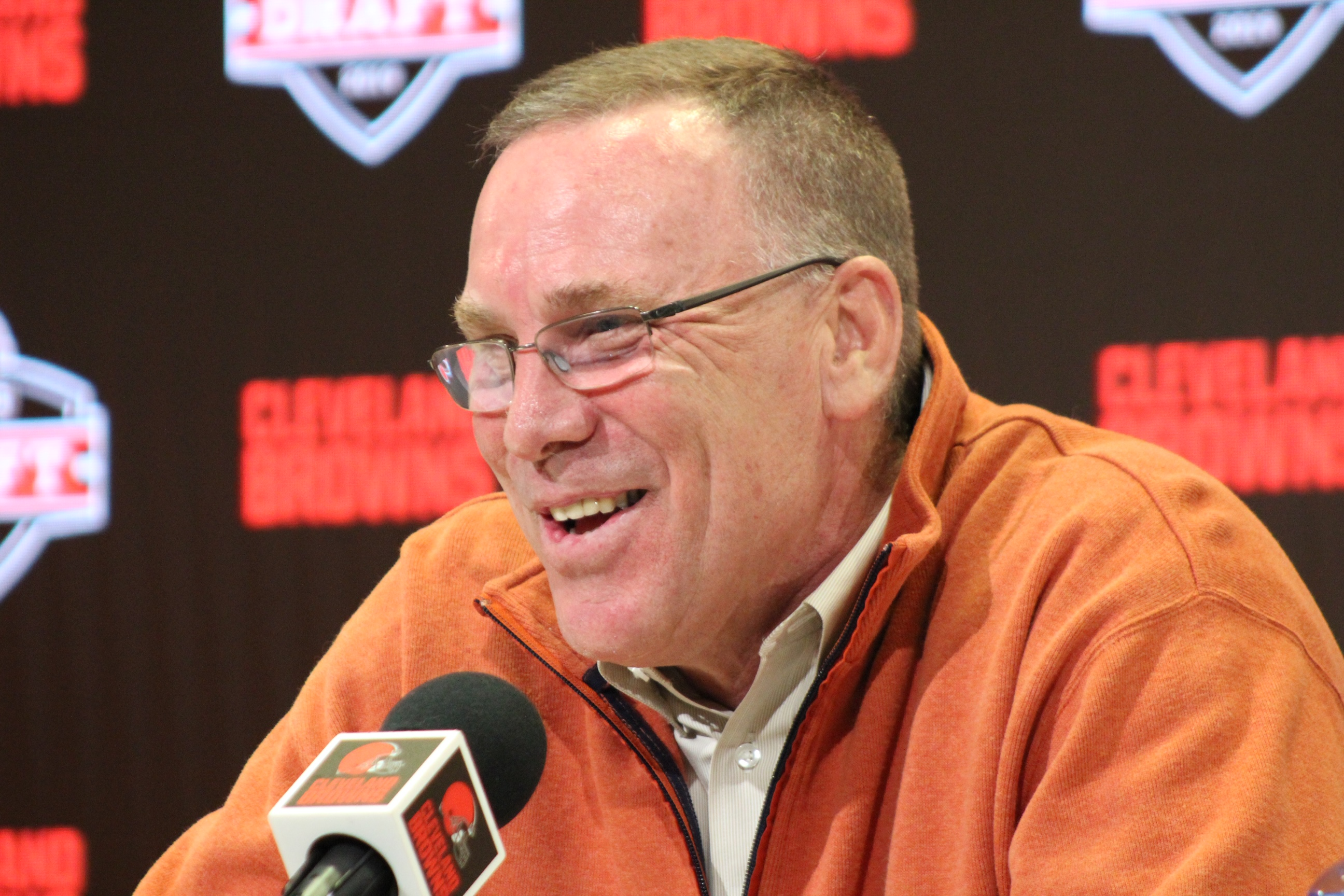"""Browns GM John Dorsey: """"I hate Hype. It's not real"""""""