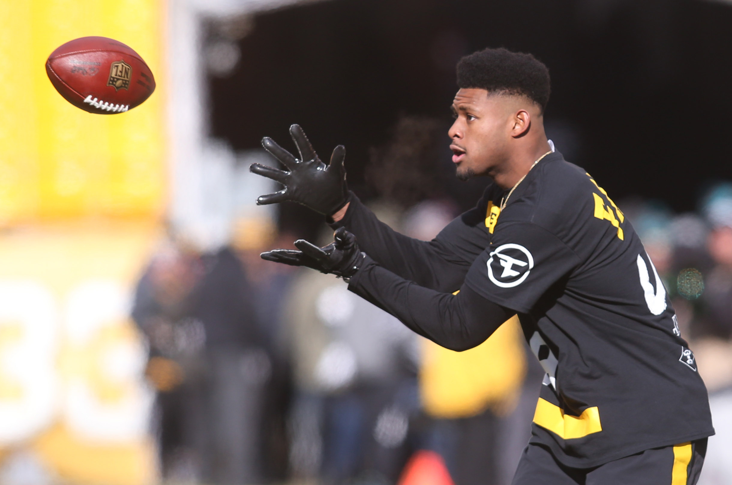 58d0f5d4e JuJu Smith-Schuster Tries To Recruit LeBron To Play For Steelers ...