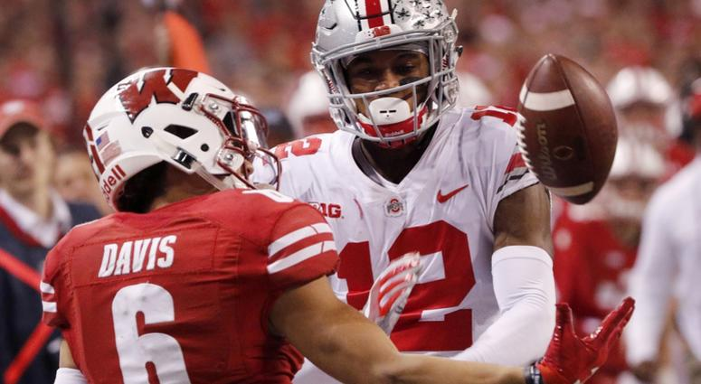 promo code c2dca 5182c Browns host Ohio State's Denzel Ward, other draft prospects ...