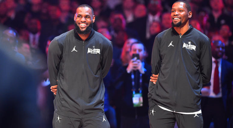 c38cc872d8b0 Report  LeBron James And Kevin Durant Recorded Unreleased Rap Track ...