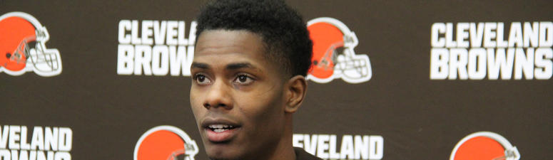 Cleveland Browns CB Greedy Williams: I get in at 6:45 am to watch film