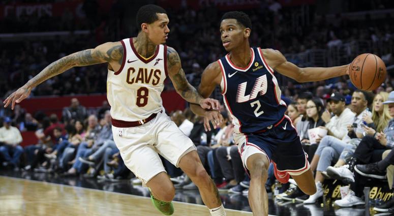 6f308d782cb0 LA Clippers beat Cleveland Cavaliers 132-108