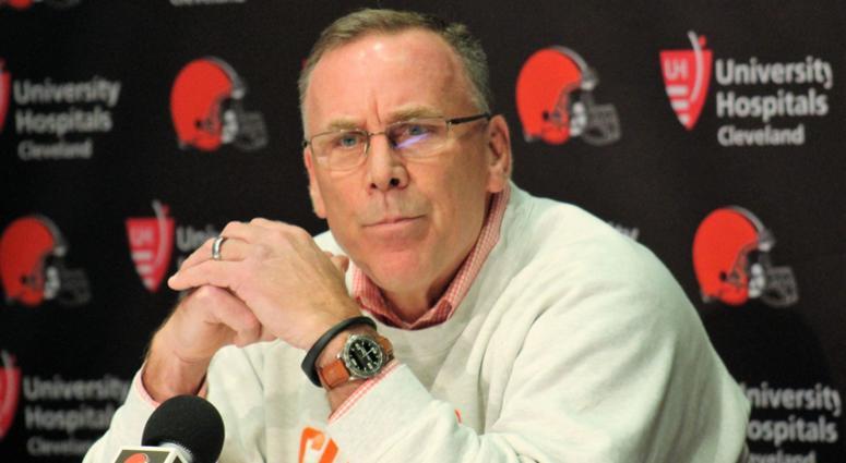 John Dorsey Cleveland Browns fire Hue Jackson