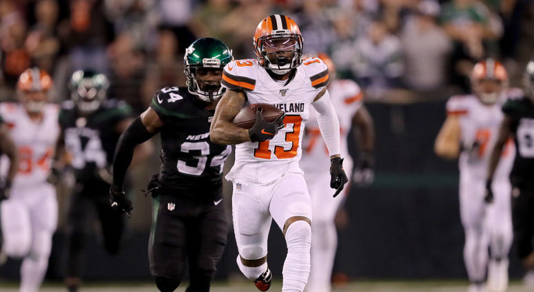 A win is a win: Odell Beckham Jr. helps Browns blow by Jets 23-3