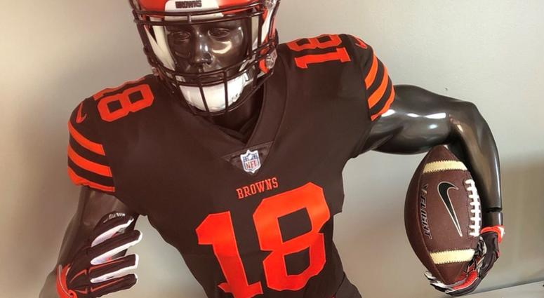 Cheap Cleveland Browns wear color rush uniforms against New York Jets  supplier