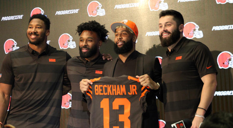 47e48f55c522f Odell Beckham Jr. says Cleveland Browns New York Jets in week 1 2019 ...
