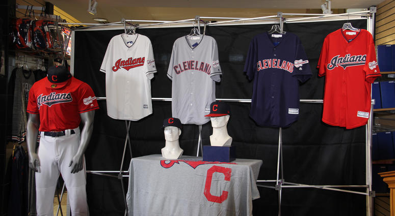 half off b7f1a 3522a Cleveland Indians add All-Star patch to 2019 uniforms | 92.3 ...