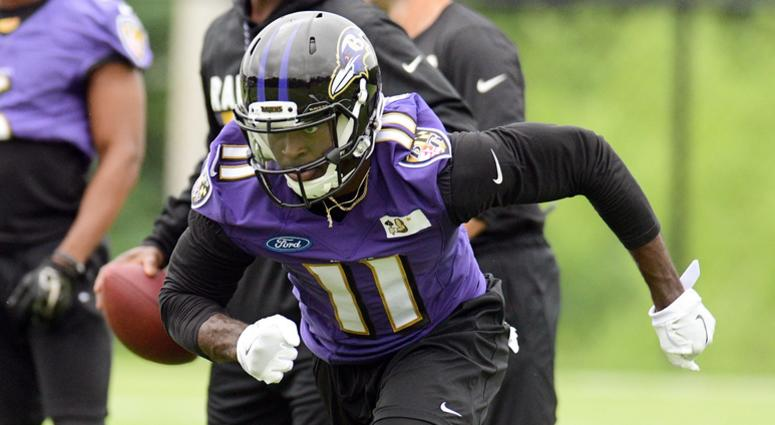 Breshad Perriman Cleveland Browns sign former Baltimore Ravens receiver