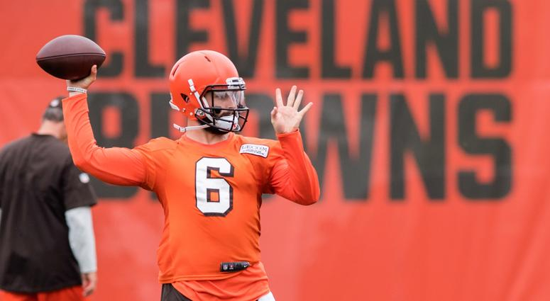 premium selection f8f55 f952e Baker Mayfield should be given chance to start for Cleveland ...