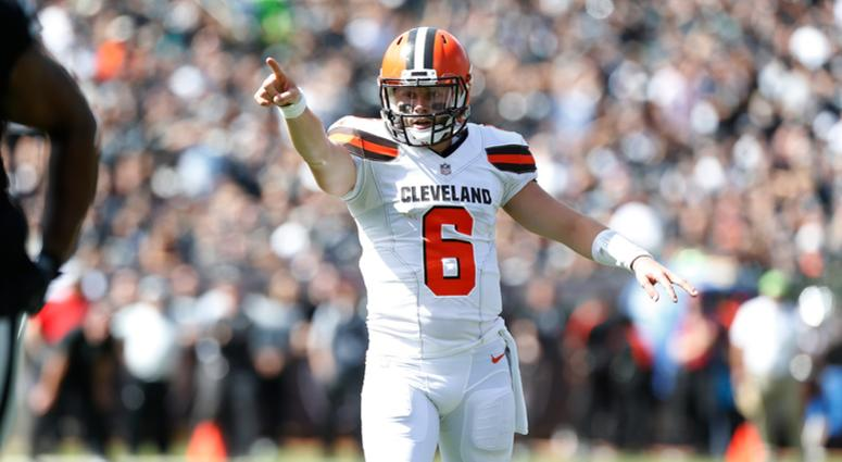 3c9aa4b92a0 Baker Mayfield gives Cleveland Browns hope 4 weeks into 2018 NFL ...
