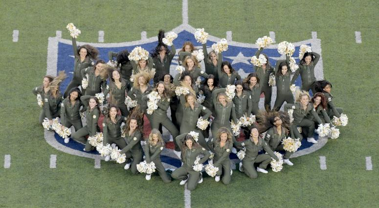 Dec 15, 2018; East Rutherford, NJ, USA; New York Jets cheerleaders perform before a game against the Houston Texans at MetLife Stadium. Mandatory Credit: Kirby Lee-USA TODAY Sports