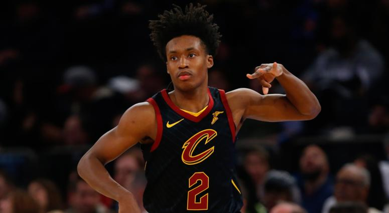 big sale 23e00 3a667 Collin Sexton sets Cleveland Cavaliers rookie record for ...