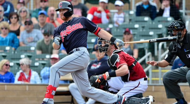 23d3c4e44 Cleveland Indians outfielder Jordan Luplow hopes to impress | 92.3 ...
